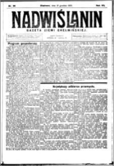 Nadwiślanin. Gazeta Ziemi Chełmińskiej, 1925.12.16 R. 7 nr 99