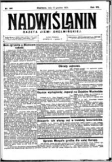 Nadwiślanin. Gazeta Ziemi Chełmińskiej, 1925.12.19 R. 7 nr 100