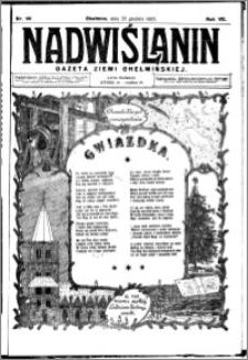 Nadwiślanin. Gazeta Ziemi Chełmińskiej, 1925.12.25 R. 7 nr 101