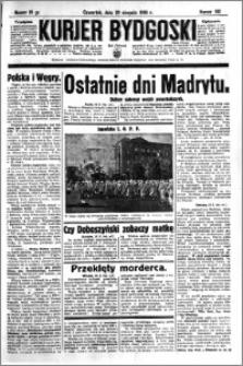Kurjer Bydgoski 1936.08.20 R.15 nr 192