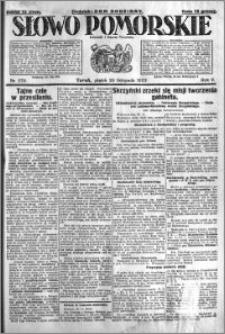 Słowo Pomorskie 1925.11.20 R.5 nr 270