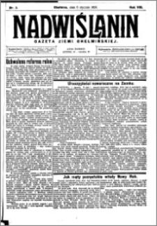Nadwiślanin. Gazeta Ziemi Chełmińskiej, 1926.01.06 R. 8 nr 2