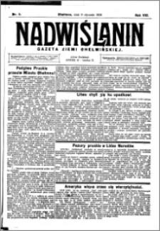 Nadwiślanin. Gazeta Ziemi Chełmińskiej, 1926.01.09 R. 8 nr 3