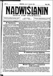 Nadwiślanin. Gazeta Ziemi Chełmińskiej, 1926.01.16 R. 8 nr 5
