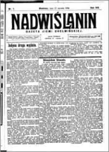 Nadwiślanin. Gazeta Ziemi Chełmińskiej, 1926.01.23 R. 8 nr 7