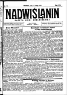 Nadwiślanin. Gazeta Ziemi Chełmińskiej, 1926.02.13 R. 8 nr 13
