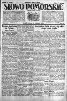 Słowo Pomorskie 1925.11.21 R.5 nr 271