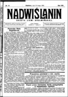 Nadwiślanin. Gazeta Ziemi Chełmińskiej, 1926.02.20 R. 8 nr 15
