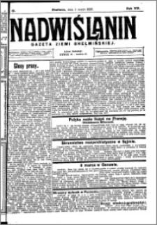 Nadwiślanin. Gazeta Ziemi Chełmińskiej, 1926.03.03 R. 8 nr 18