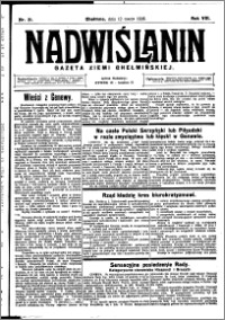 Nadwiślanin. Gazeta Ziemi Chełmińskiej, 1926.03.12 R. 8 nr 21