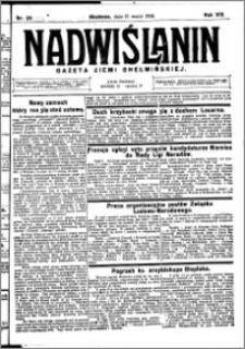 Nadwiślanin. Gazeta Ziemi Chełmińskiej, 1926.03.17 R. 8 nr 22