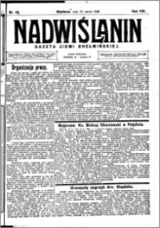 Nadwiślanin. Gazeta Ziemi Chełmińskiej, 1926.03.20 R. 8 nr 23