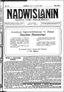 Nadwiślanin. Gazeta Ziemi Chełmińskiej, 1926.04.17 R. 8 nr 31