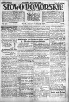 Słowo Pomorskie 1925.11.22 R.5 nr 272