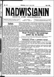 Nadwiślanin. Gazeta Ziemi Chełmińskiej, 1926.05.08 R. 8 nr 37