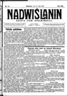 Nadwiślanin. Gazeta Ziemi Chełmińskiej, 1926.05.22 R. 8 nr 41