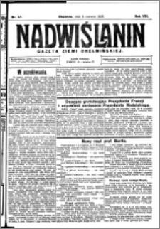 Nadwiślanin. Gazeta Ziemi Chełmińskiej, 1926.06.11 R. 8 nr 47