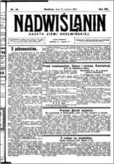Nadwiślanin. Gazeta Ziemi Chełmińskiej, 1926.06.16 R. 8 nr 48