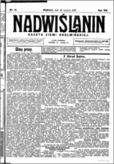 Nadwiślanin. Gazeta Ziemi Chełmińskiej, 1926.06.26 R. 8 nr 51