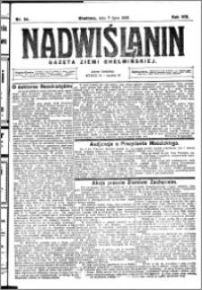 Nadwiślanin. Gazeta Ziemi Chełmińskiej, 1926.07.07 R. 8 nr 54