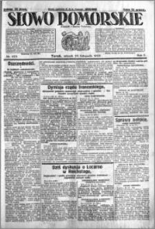 Słowo Pomorskie 1925.11.24 R.5 nr 273
