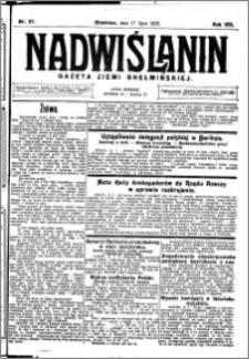 Nadwiślanin. Gazeta Ziemi Chełmińskiej, 1926.07.17 R. 8 nr 57