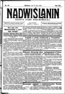 Nadwiślanin. Gazeta Ziemi Chełmińskiej, 1926.07.24 R. 8 nr 59