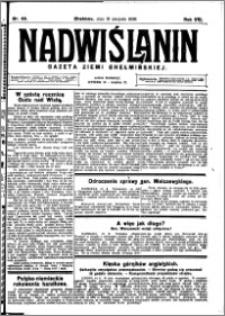 Nadwiślanin. Gazeta Ziemi Chełmińskiej, 1926.08.18 R. 8 nr 66