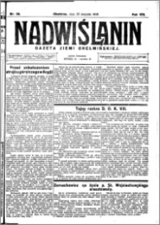 Nadwiślanin. Gazeta Ziemi Chełmińskiej, 1926.08.25 R. 8 nr 68