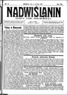 Nadwiślanin. Gazeta Ziemi Chełmińskiej, 1926.09.04 R. 8 nr 71