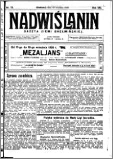 Nadwiślanin. Gazeta Ziemi Chełmińskiej, 1926.09.18 R. 8 nr 75
