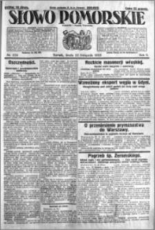 Słowo Pomorskie 1925.11.25 R.5 nr 274