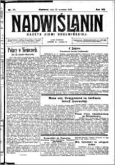 Nadwiślanin. Gazeta Ziemi Chełmińskiej, 1926.09.25 R. 8 nr 77