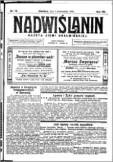 Nadwiślanin. Gazeta Ziemi Chełmińskiej, 1926.10.02 R. 8 nr 79