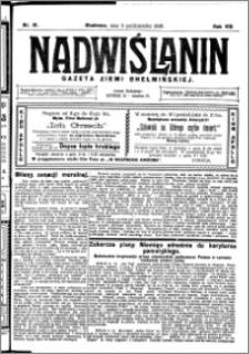 Nadwiślanin. Gazeta Ziemi Chełmińskiej, 1926.10.09 R. 8 nr 81