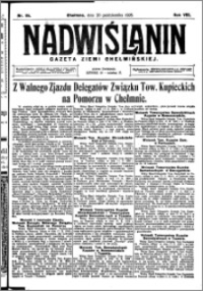 Nadwiślanin. Gazeta Ziemi Chełmińskiej, 1926.10.20 R. 8 nr 84