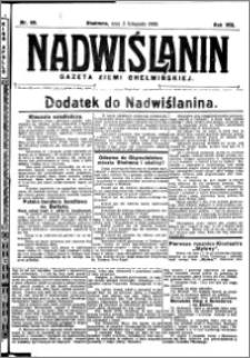 Nadwiślanin. Gazeta Ziemi Chełmińskiej, 1926.11.03 R. 8 nr 88