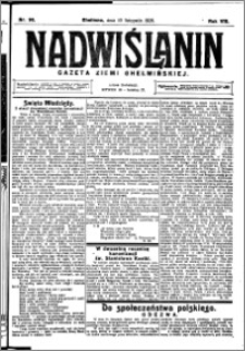Nadwiślanin. Gazeta Ziemi Chełmińskiej, 1926.11.10 R. 8 nr 90