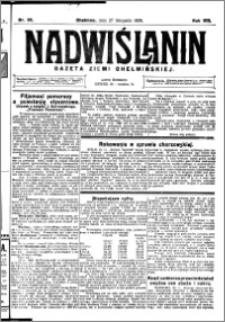 Nadwiślanin. Gazeta Ziemi Chełmińskiej, 1926.11.27 R. 8 nr 95