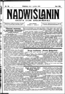 Nadwiślanin. Gazeta Ziemi Chełmińskiej, 1926.12.01 R. 8 nr 96