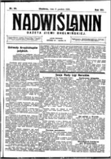 Nadwiślanin. Gazeta Ziemi Chełmińskiej, 1926.12.11 R. 8 nr 99