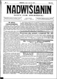 Nadwiślanin. Gazeta Ziemi Chełmińskiej, 1927.01.05 R. 9 nr 1