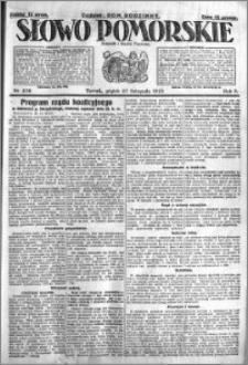 Słowo Pomorskie 1925.11.27 R.5 nr 276