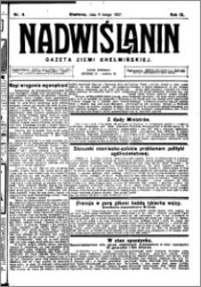 Nadwiślanin. Gazeta Ziemi Chełmińskiej, 1927.02.09 R. 9 nr 11