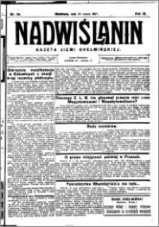 Nadwiślanin. Gazeta Ziemi Chełmińskiej, 1927.03.26 R. 9 nr 24