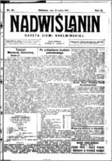 Nadwiślanin. Gazeta Ziemi Chełmińskiej, 1927.03.30 R. 9 nr 25
