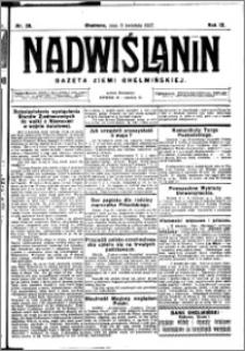 Nadwiślanin. Gazeta Ziemi Chełmińskiej, 1927.04.09 R. 9 nr 28