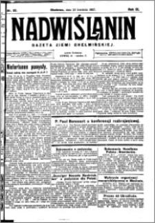 Nadwiślanin. Gazeta Ziemi Chełmińskiej, 1927.04.23 R. 9 nr 32