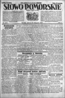 Słowo Pomorskie 1925.11.28 R.5 nr 277