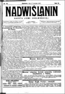 Nadwiślanin. Gazeta Ziemi Chełmińskiej, 1927.04.27 R. 9 nr 33